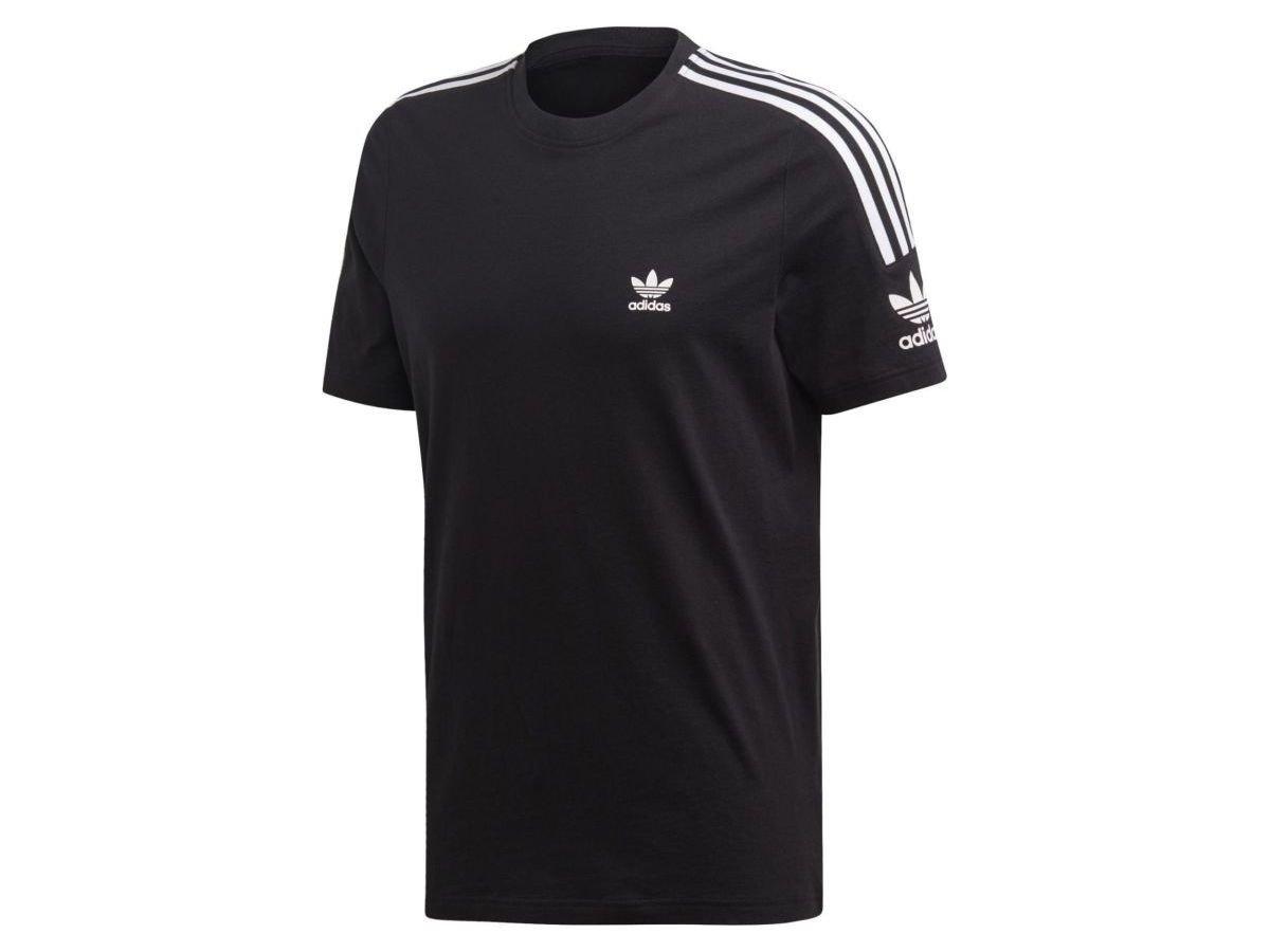 adidas Originals TECH TEE T shirt z nadrukiem black