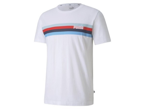 Puma CELEBRATION GRAPHIC TEE PUMA WHITE-STRIP Herren T-Shirt Tee Top