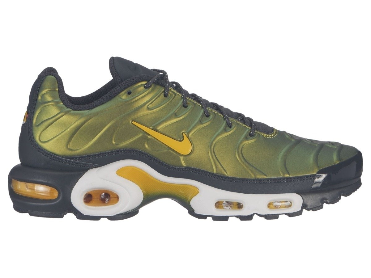 nike air max plus schwarz gold