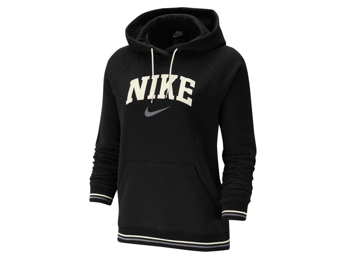 Nike NSW Hoodie FLC Damen Sweatshirt Kapuzenpullover