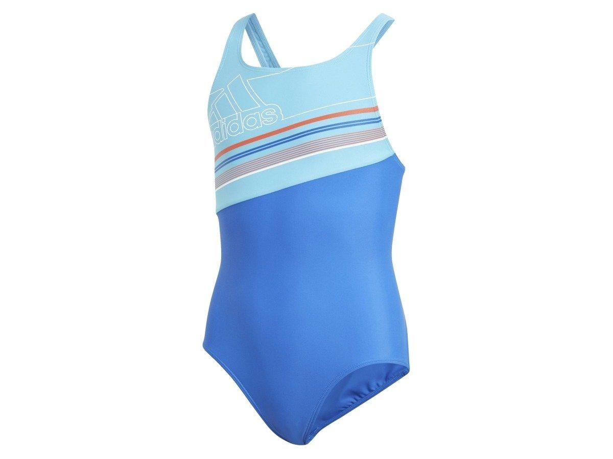 07fec8f223bed Kostium kąpielowy dziecięcy ADIDAS SB 1PC BOS Niebieski | Dzieci ...