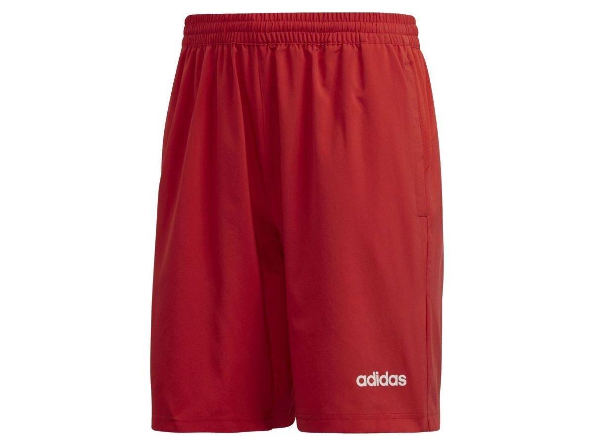 Spodenki męskie adidas D2M Cool Sho WV czerwone FM0189