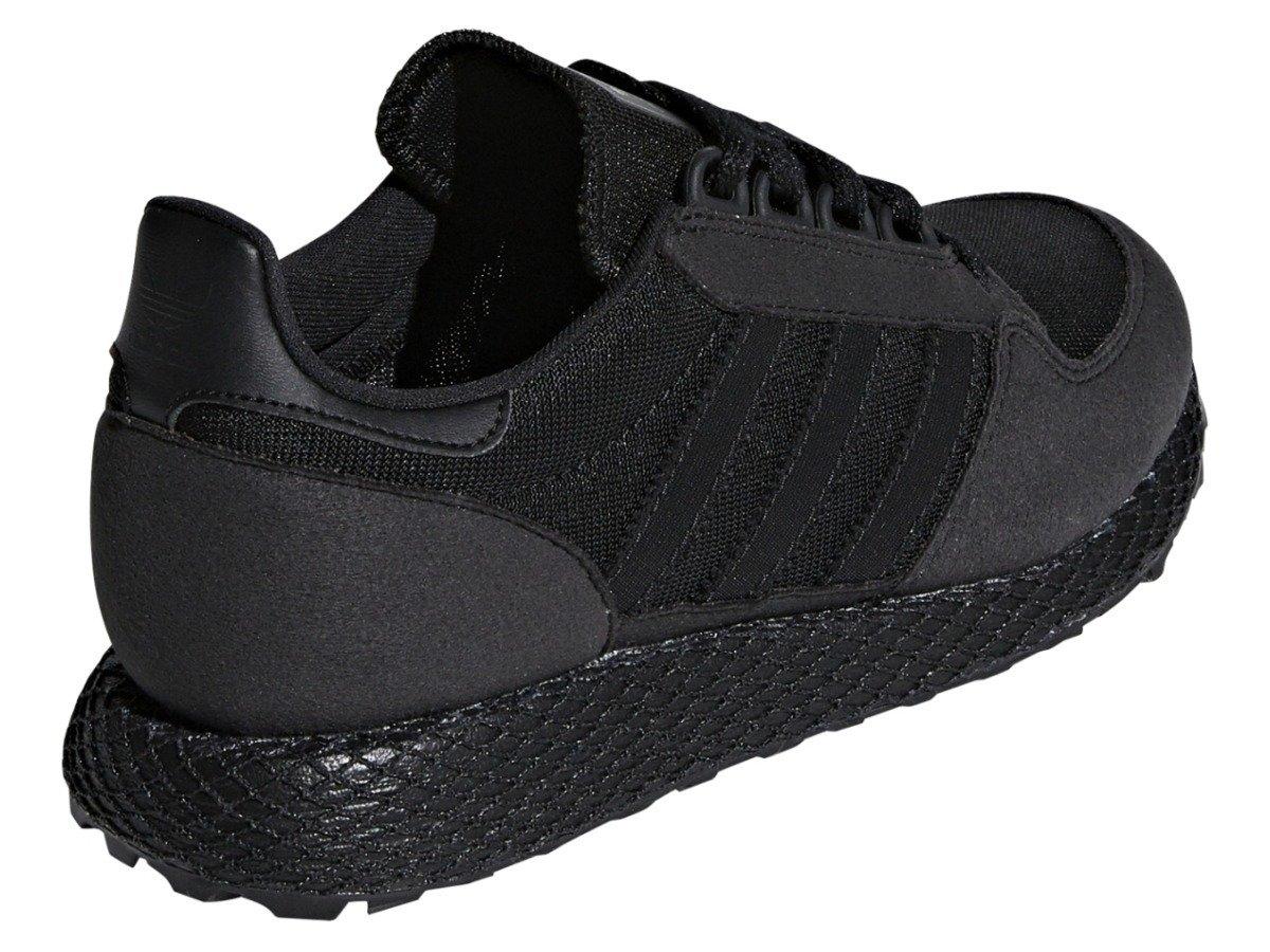 buty adidas forest grove damskie czarne